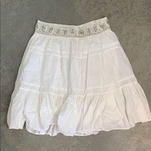 Bcbgmaxazria ruffle skirt